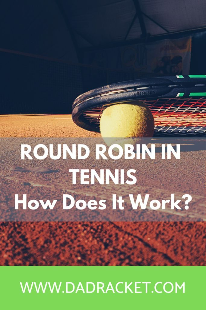 round robin in tennis | how does it work