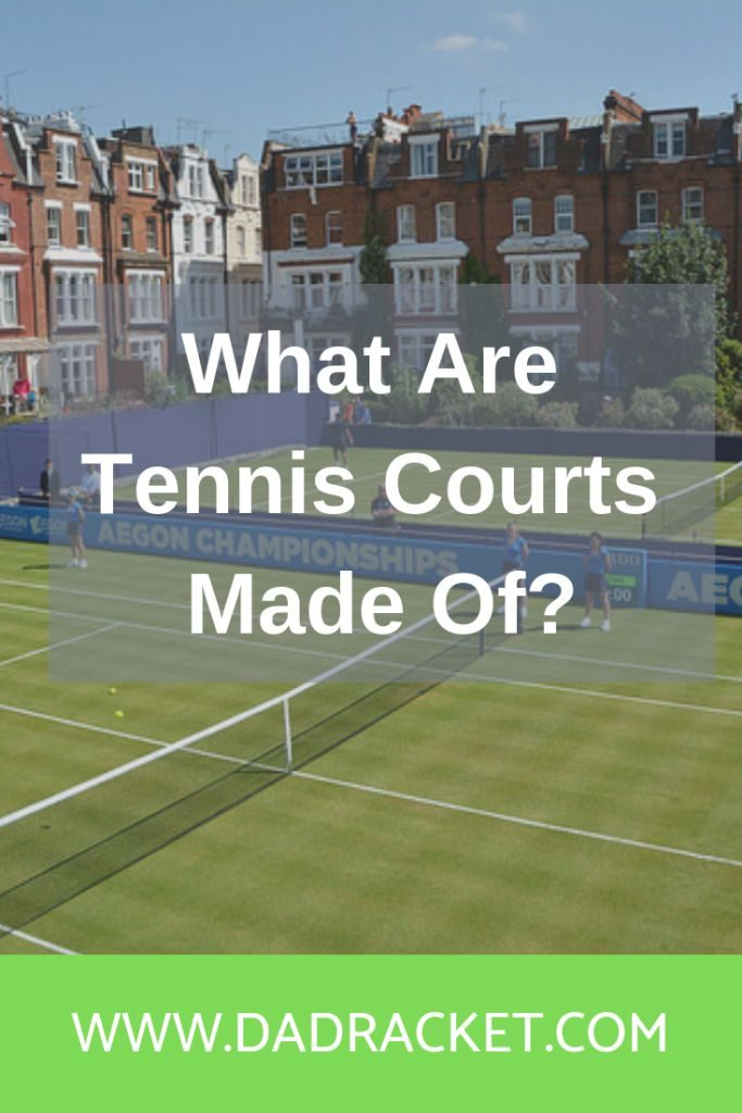 What are tennis courts made of? Here's a detailed look at all the different types of tennis court and what material is used in their construction
