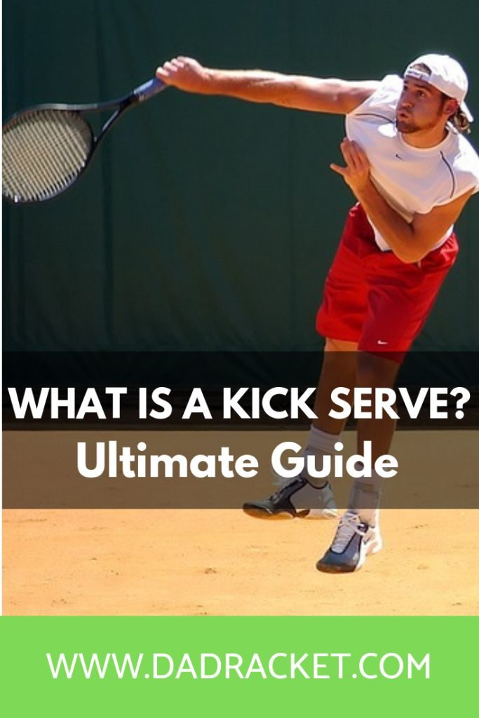What is a kick serve? Here's a detailed look on how to do one, the pros and cons of a kick serve as well as some useful drills.