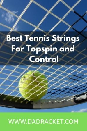 best strings for topspin and control