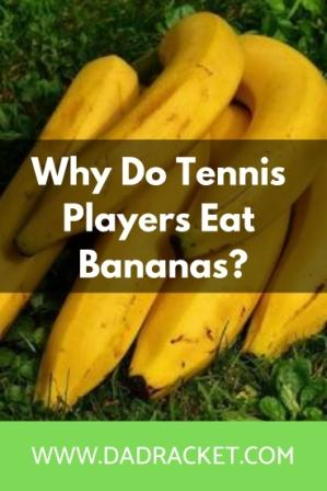 why do tennis players eat bananas?