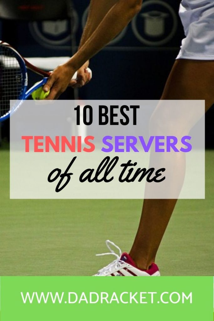 10 of the best tennis servers of all time. Do you disagree with any of them?