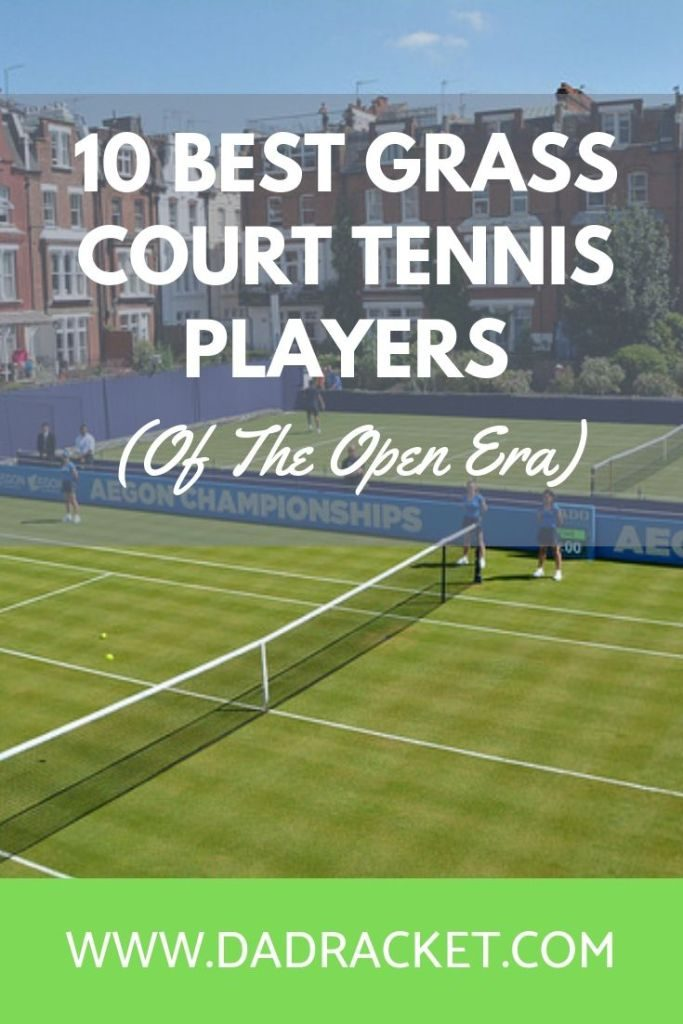 Who are the best grass court tennis players since the open era began? Check out this blog post to learn more