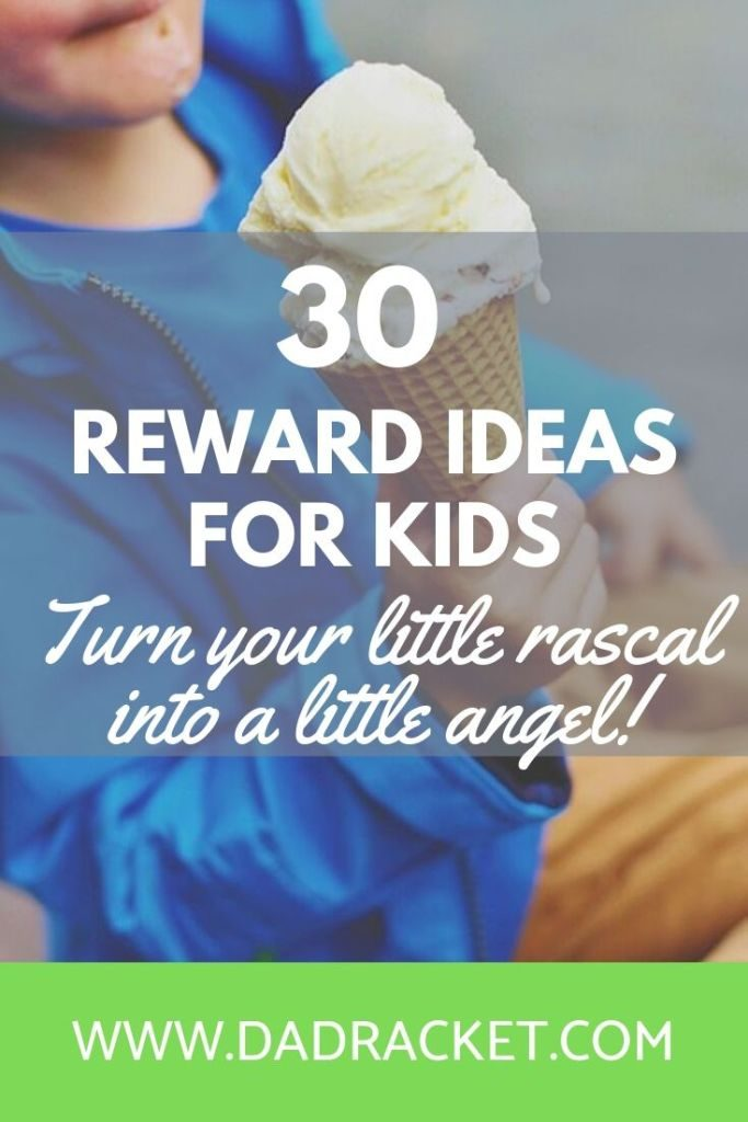 Here are 30 reward ideas for kids. Turn your little rascal into a little angel!