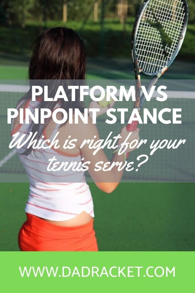 Here's an article looking at the pros and cons of the platform vs pinpoint stance. Which is better for your tennis game?