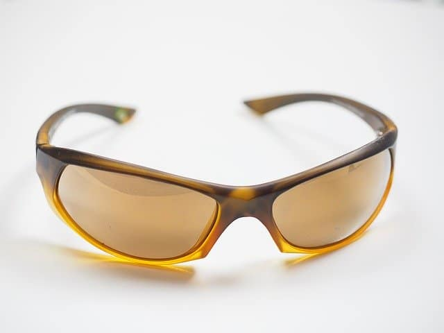 sunglasses with brown frame and lenses