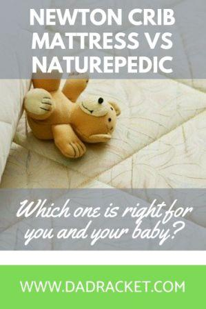 Thinking of buying a crib mattress for your baby's crib? Here's a detailed look at two popular options; the Newton crib mattress and the Naturepedic crib mattress