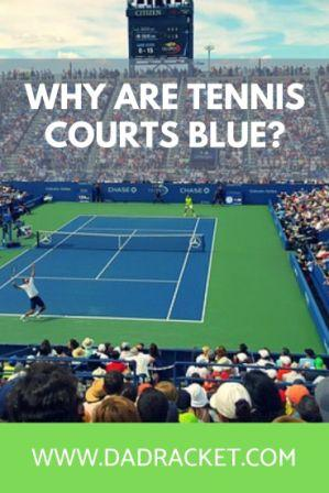 Why are some tennis courts blue? Here are some reasons why many hard courts have switched to this colour.