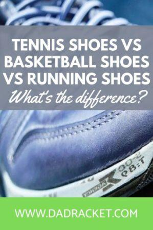 What are the differences between tennis shoes, basketball shoes and running shoes. Check out this article to learn more.