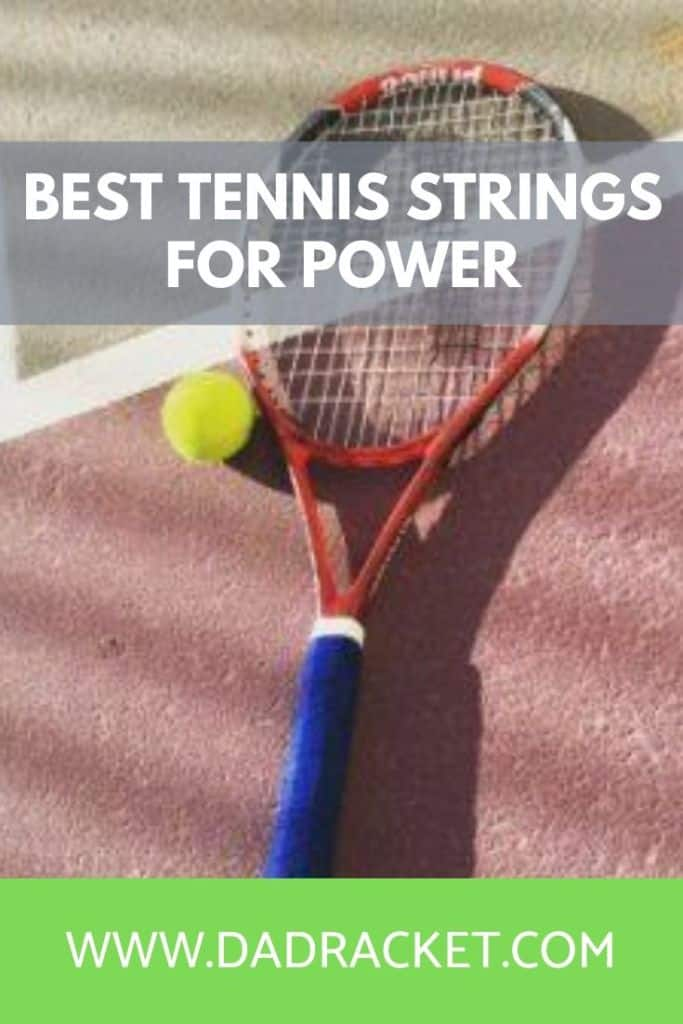 What are the best tennis strings for comfort and power? Check out this article to learn more