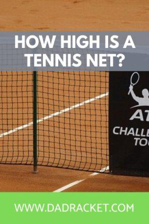 How high is a tennis net? Check out this article to learn more