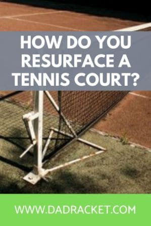 In this article you'll discover how to resurface a tennis court.