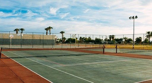 How To Clean A Tennis Court