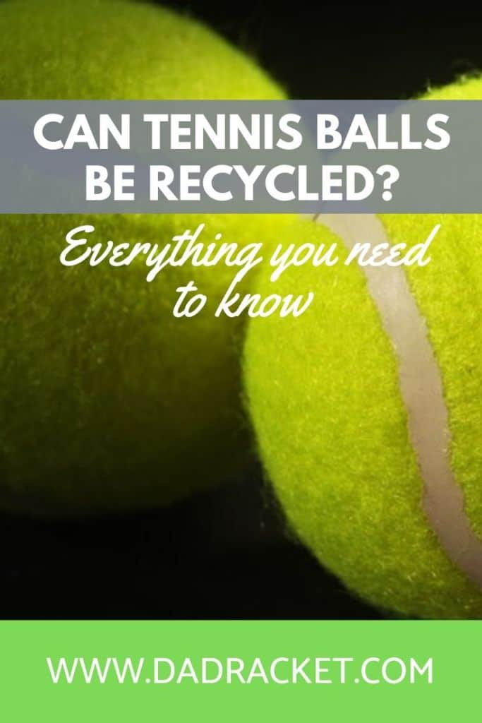 Can tennis balls be recycled? In this article you'll discover everything you need to know.