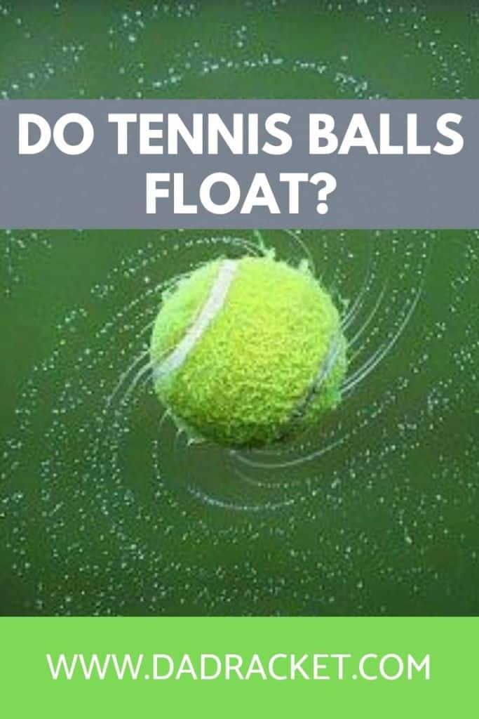 Do tennis balls float? In this article you'll discover whether this is true or not.