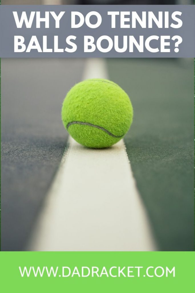 Ever wondered why tennis balls bounce? In this article you'll discover why this happens and what other factors can affect the height of the bounce.
