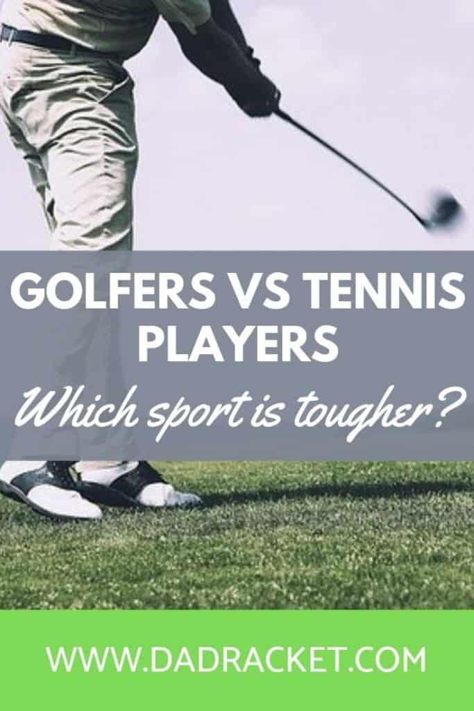 golfers vs tennis players